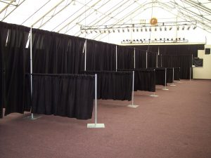 Trade show booths by Pizazz Rents & events